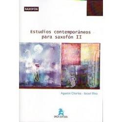 Estudios Contemporáneos para Saxofón II