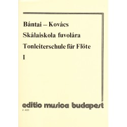 Bántai-Kovács. Escalas Flauta 1