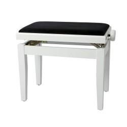 GW Banqueta Piano Blanco Brillo