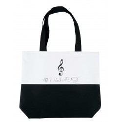 "P.L. Bolso Clave ""All I Need is Music"""
