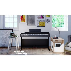 Yamaha YDP-144 Black Piano Digital