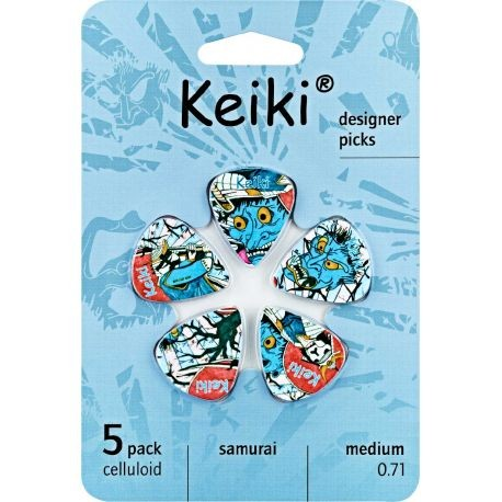 Keiki Samurai Púas Collection