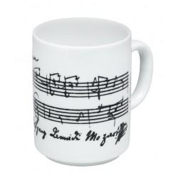 Mozart Taza Porcelana