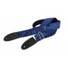 Bourbon Straps Blue Velvet