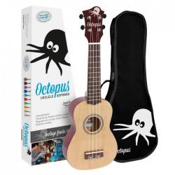 Octopus Ukelele Soprano Natural