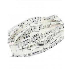 Mascarilla Musical Blanca