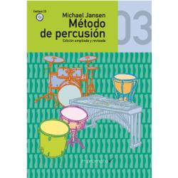 Método de percusión. Jansen Volúmen 3