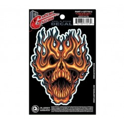 Planet Waves Guittar Tatoos Peak a boo skull red