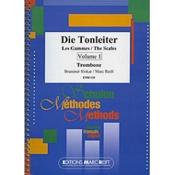 Die Tonleiter, The Scales Trombone V. 1