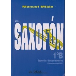 El saxofón 1º B Manuel Mijan